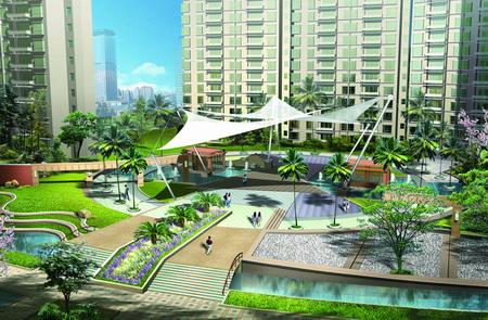 上海联洋城市花园景观设计-园林景观篇-案例经典-西宁